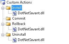 Installer - CustomActions